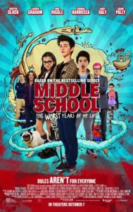 Middle School: The Worst Years of My Life @ Charles Hicking Park